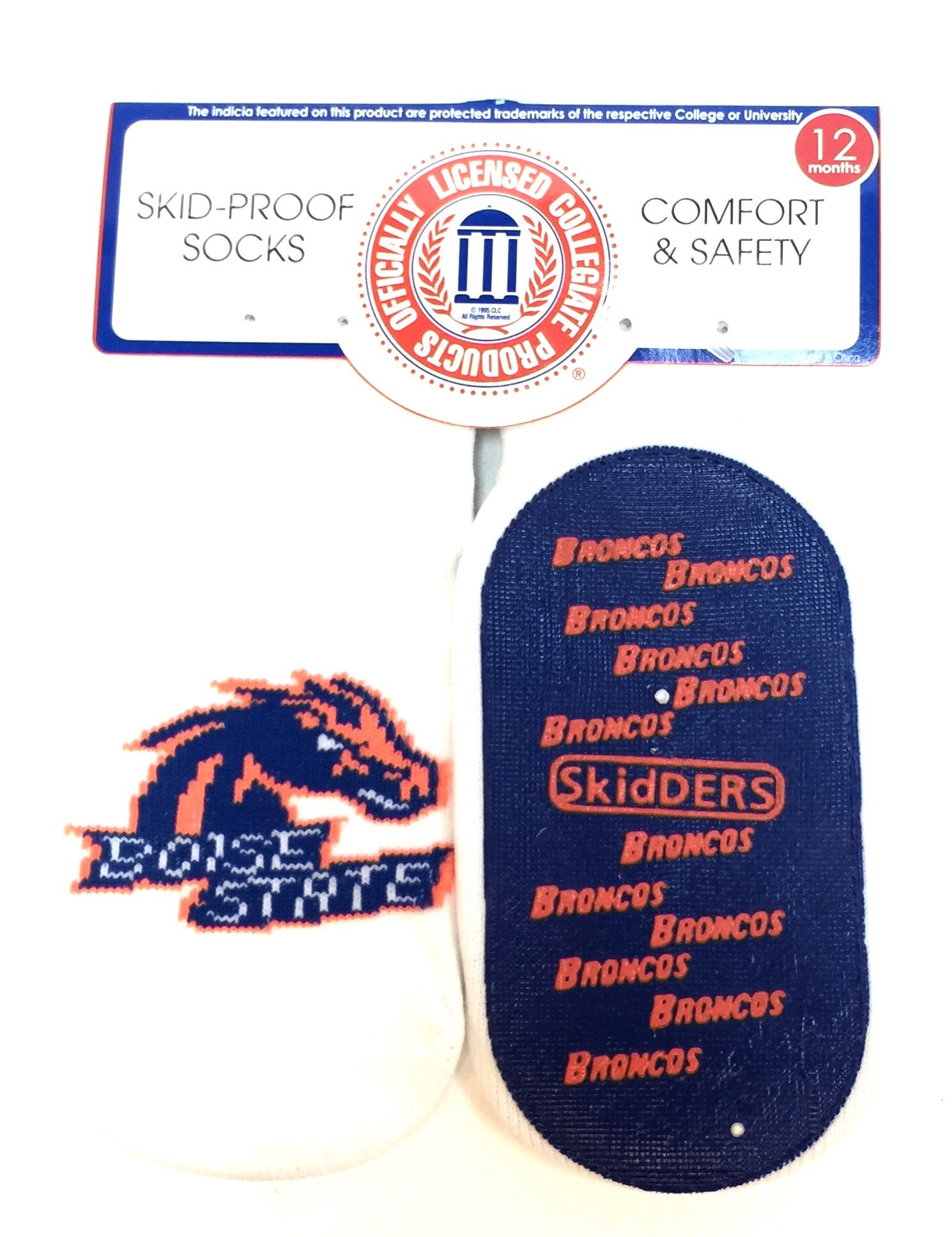 1 Pk Skid Proof Sock - Boise State