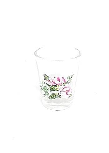 Shot Glass Magnolia Clear