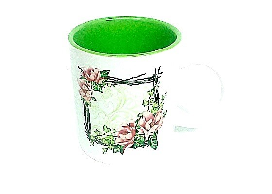 Mug Magnolia Clear Trim