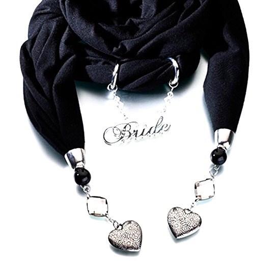 Bride Scarf Black