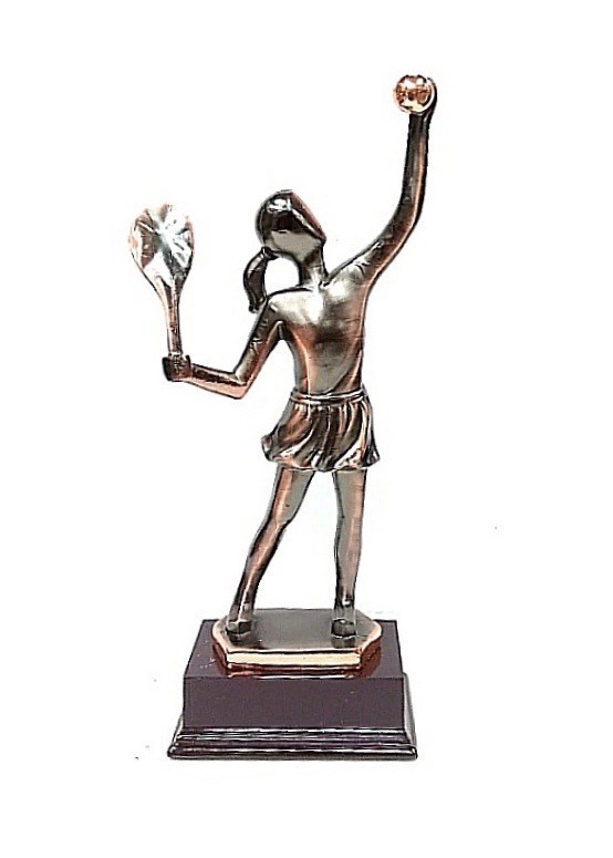 Tennis Player Statue