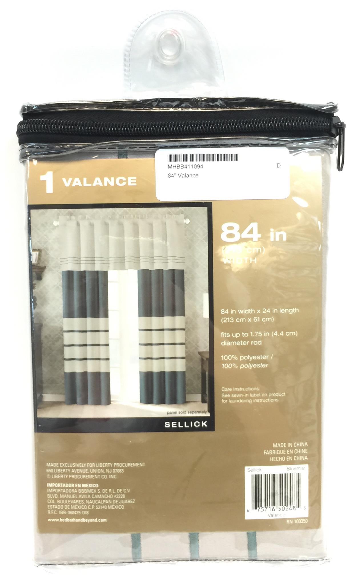 "84"" Valance"