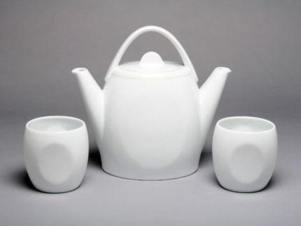 Duet Tea Set Silver Border