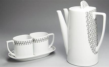 Teapot Set Black