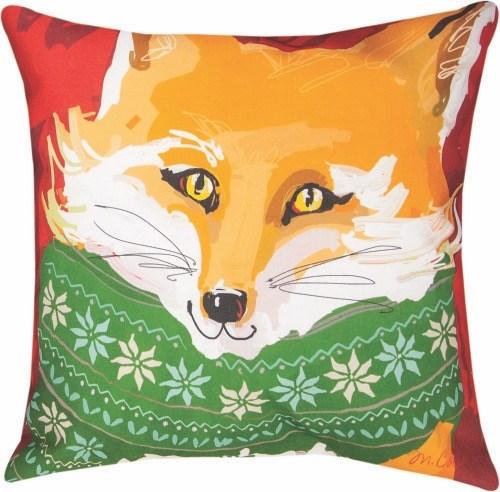 Woodland Fox Pillow