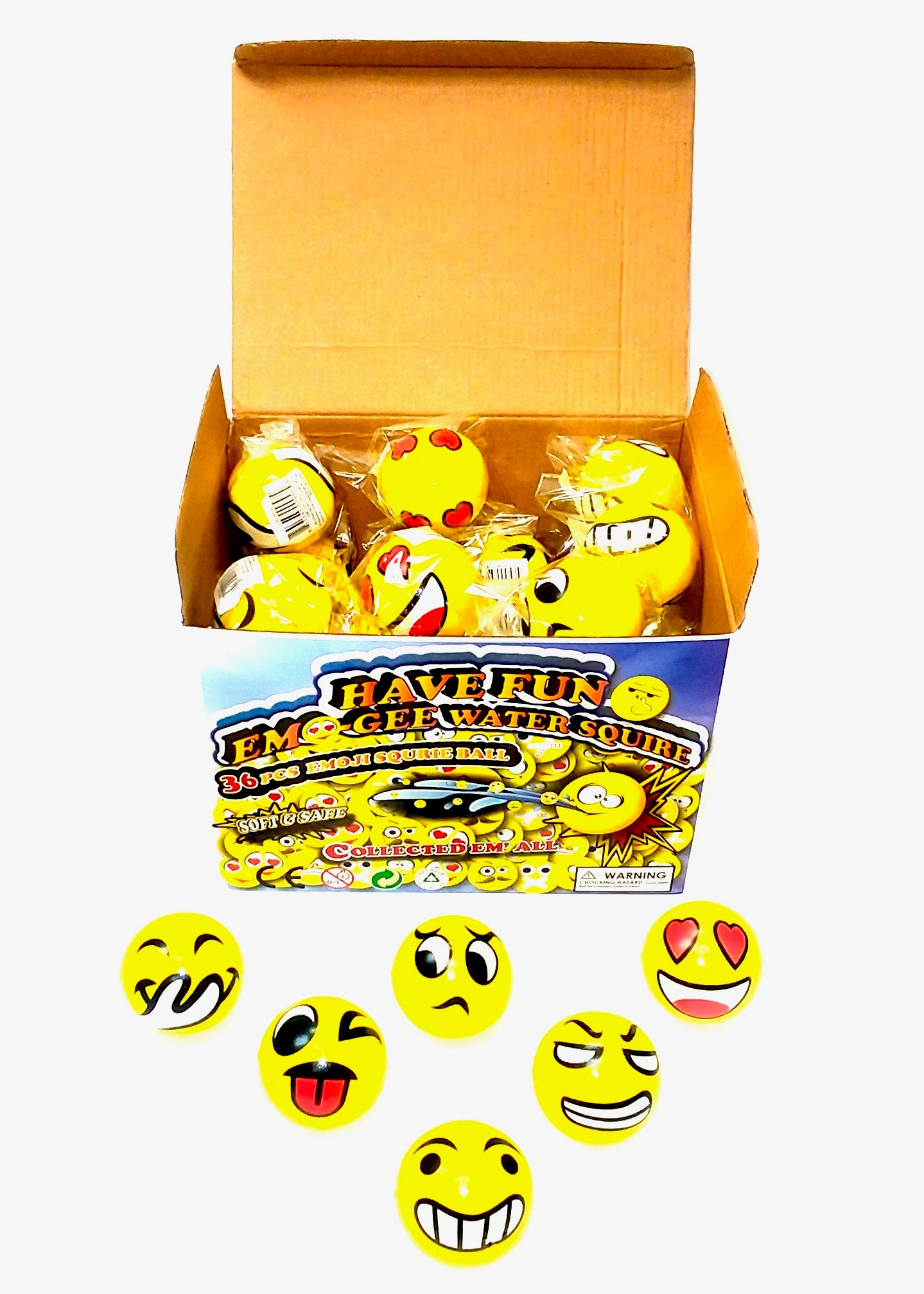 Emoji Foam Squeeze Ball