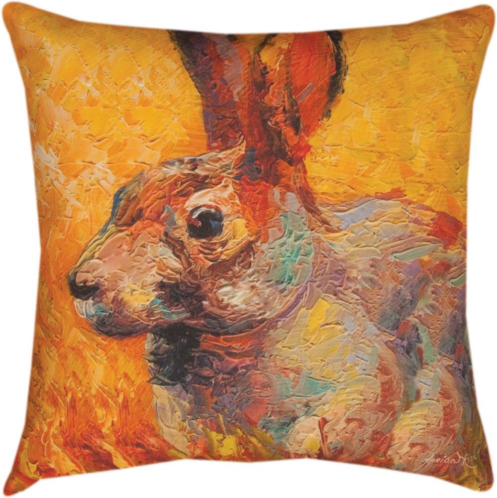 Bunny Pillow 18x18