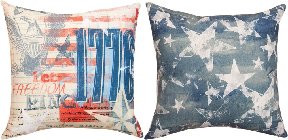"Land of Liberty 18"" Pillow"