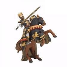 Black and Gold King Richard w/Spears Horse