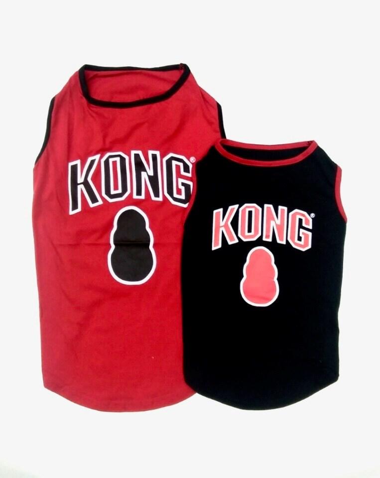 Kong Tank Top Red/Black Asst