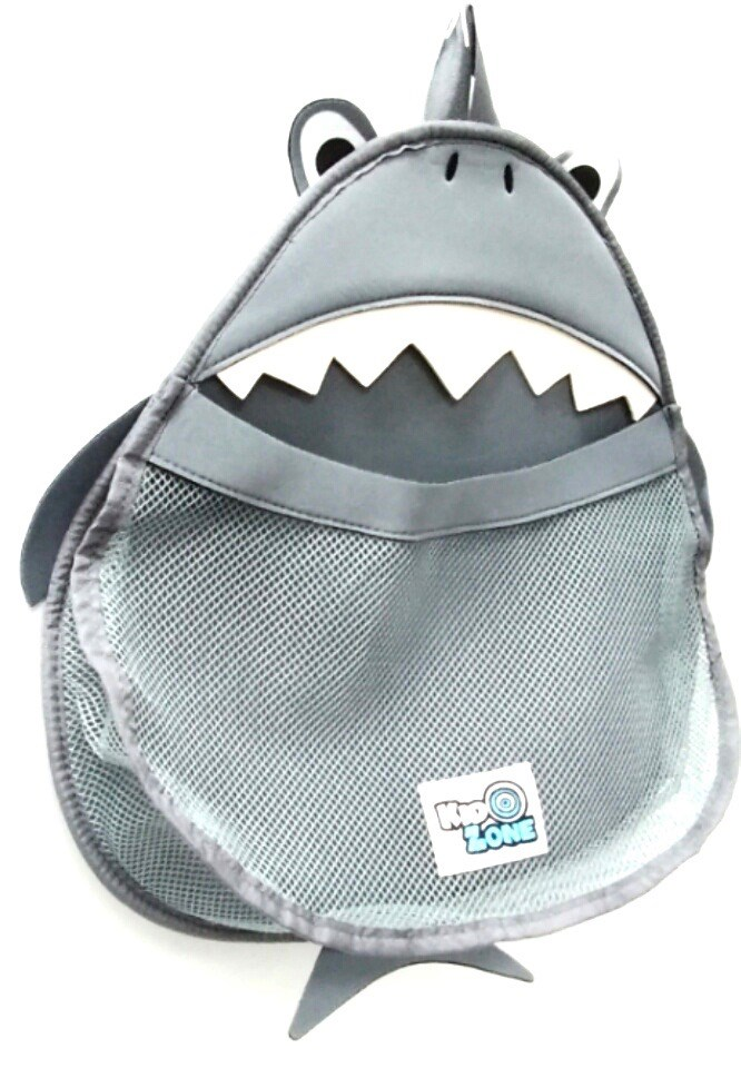 Kid Zone Bath Toy Organizer - Shark