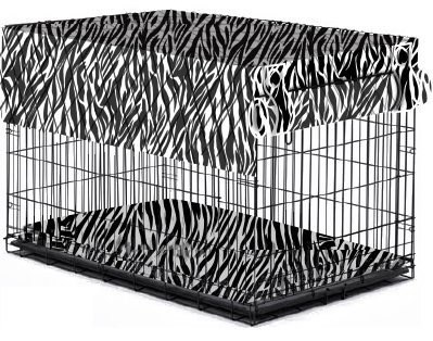 I-Crate Cover Zebra - Large