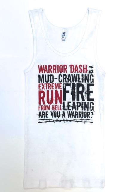 Women's Tank - Mud Crawl Run