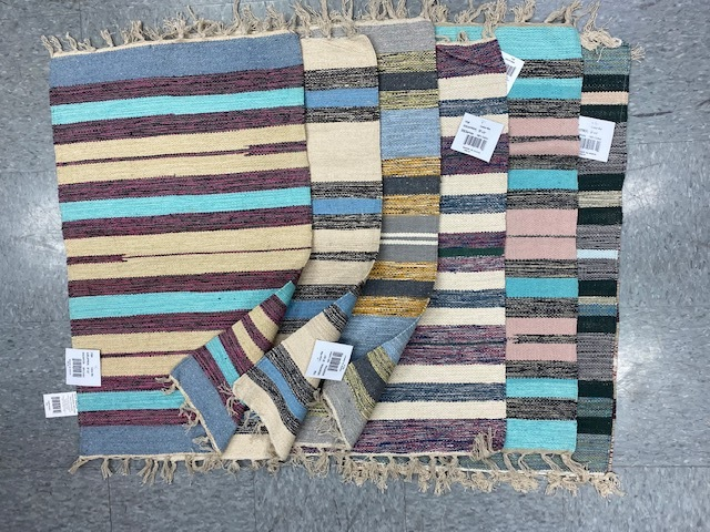 20x32 Cotton Rugs Asst