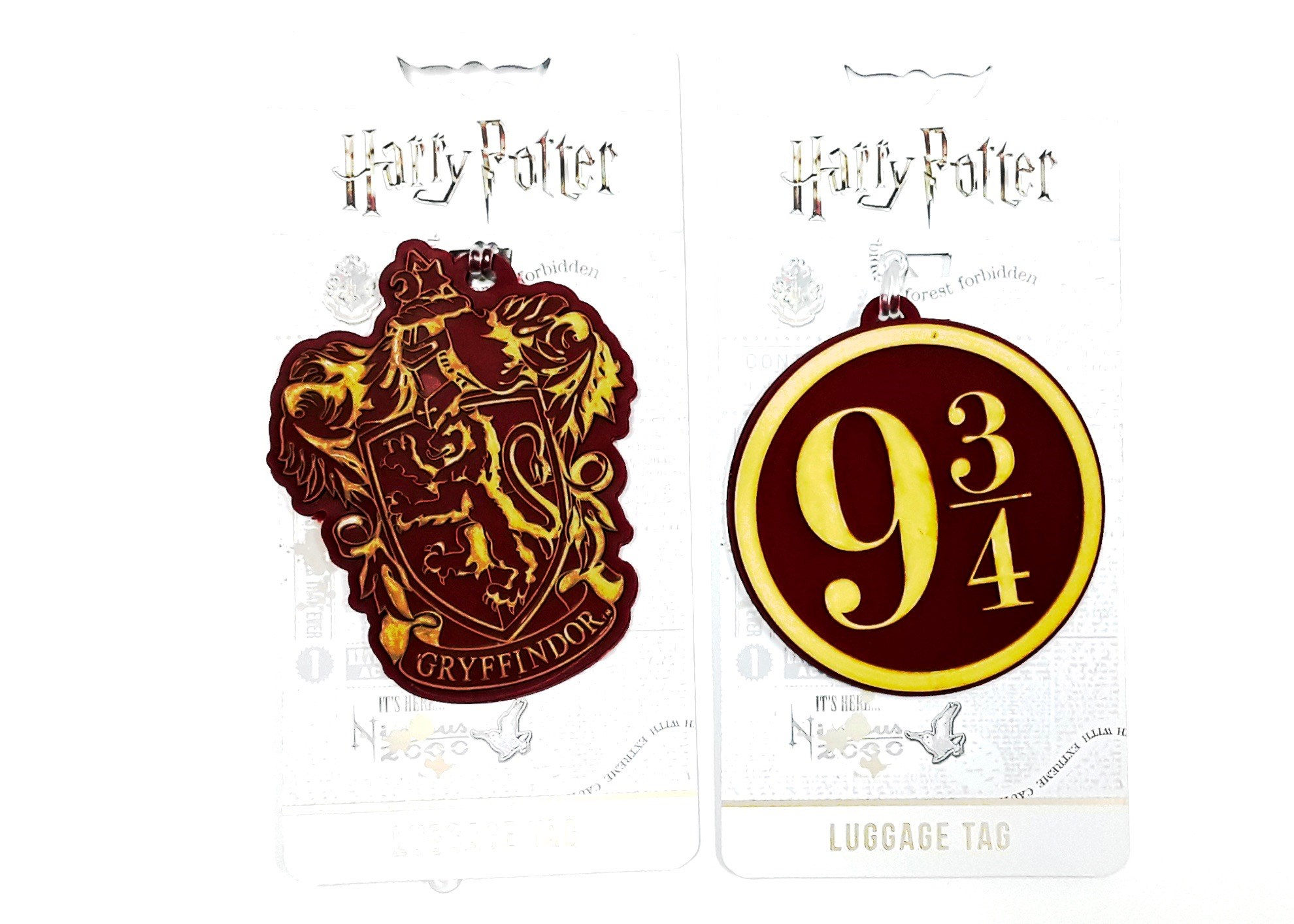 Harry Potter Luggage Tag Asst