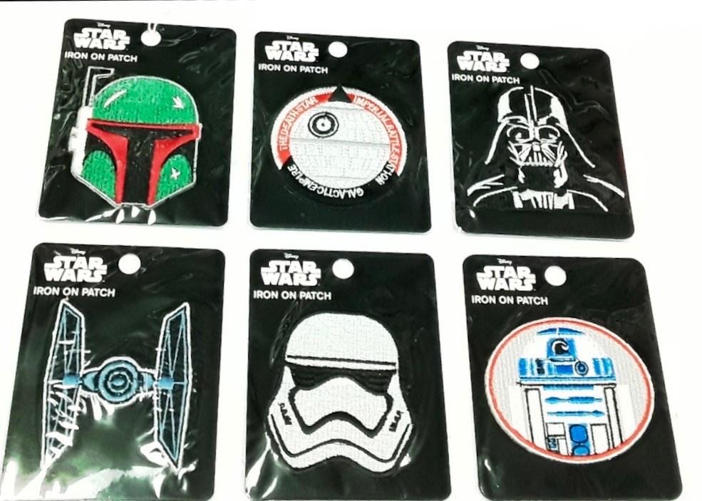 Star Wars Iron On Patch Asst