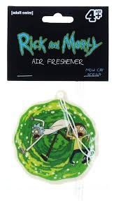 Rick & Morty Air Freshener
