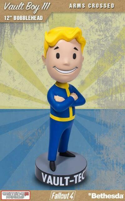 """(207-04-1558) Fallout 12"""" Bobble Head Asst"""