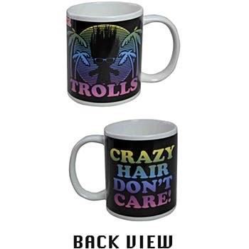 Trolls Crazy Hair Don't Care Coffee Mug