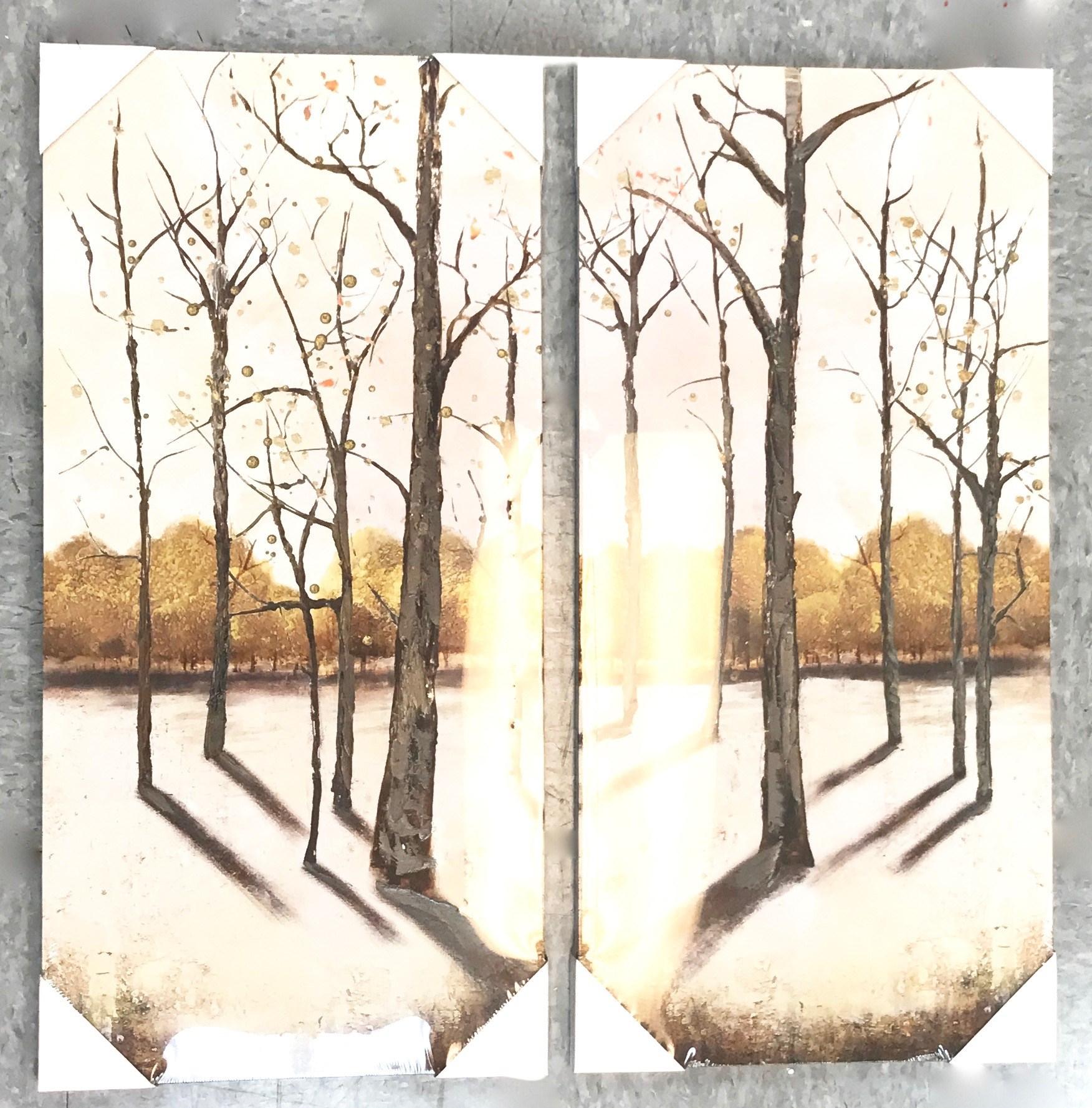 Winter Trees Print Set/2