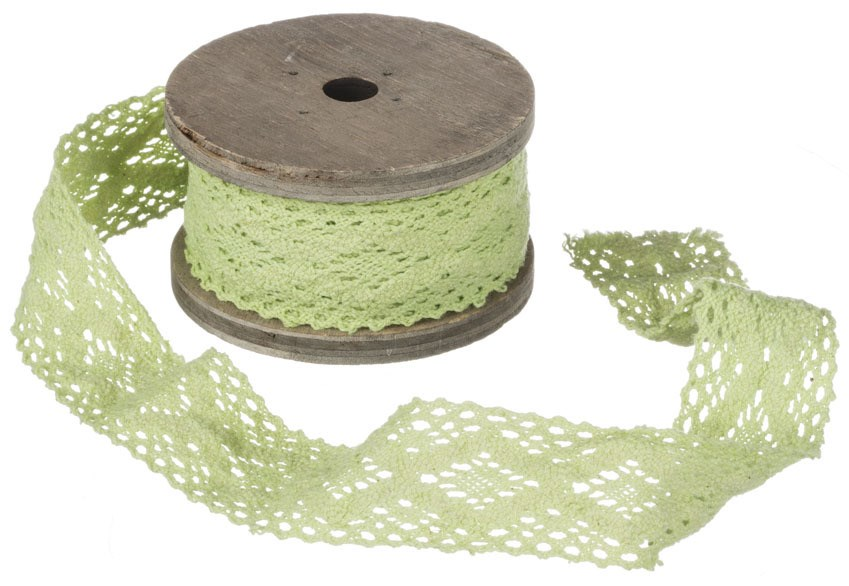 10' Trim/Lace - Green