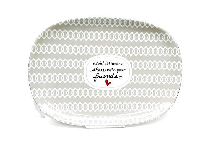 Friend Serving Platter