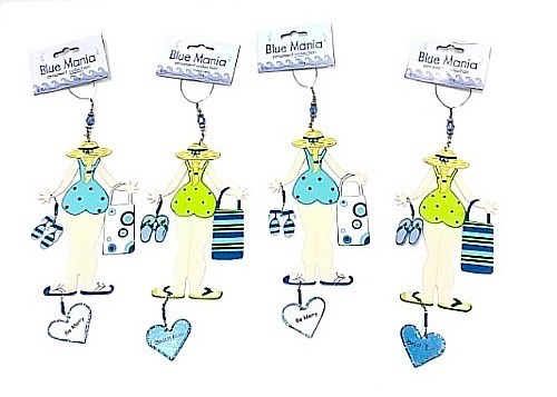 Cherished Memories Ornament Beach Bum SET/4