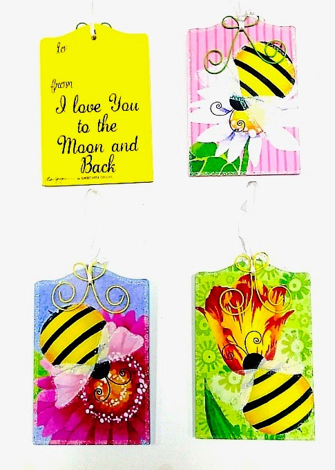 Bee Gift Tag Asst