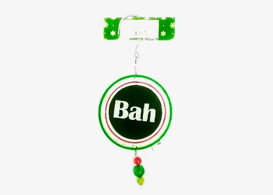 Bah Humbug Dual Sided Ornament