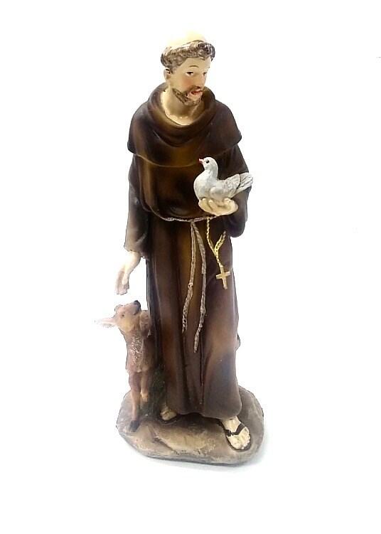 "St. Francis Figurine 8"""