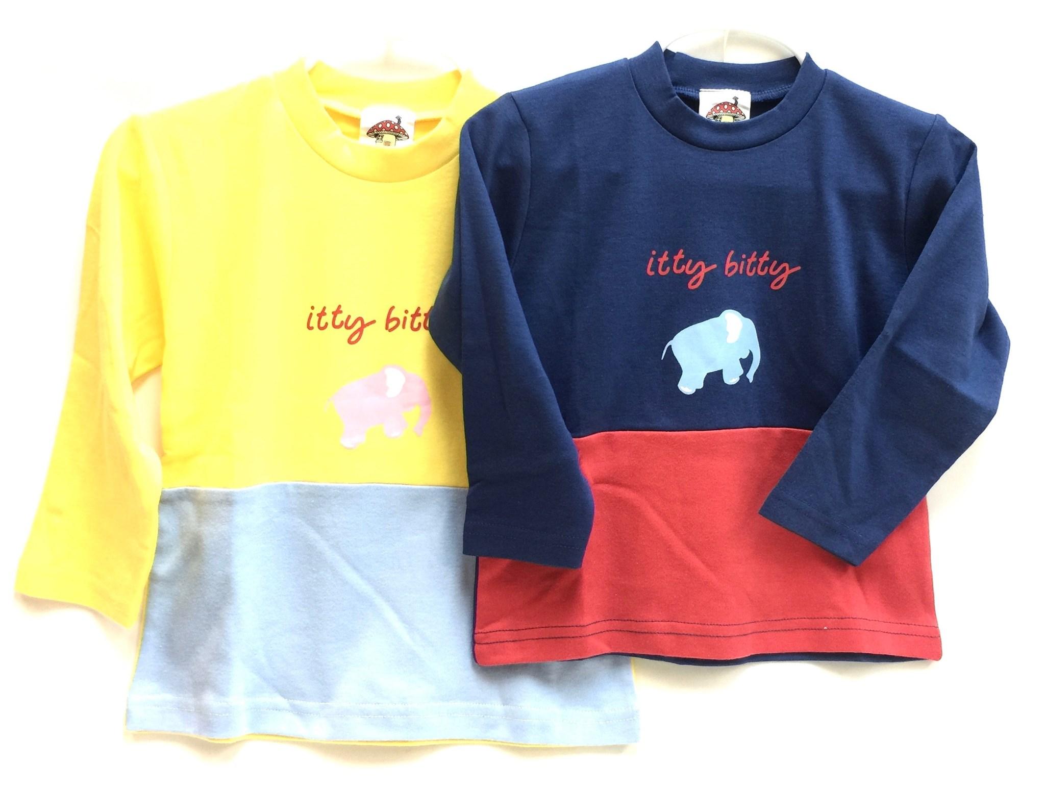 (IBWB513) Itty Bitty Elephant Tee Shirt 2/A