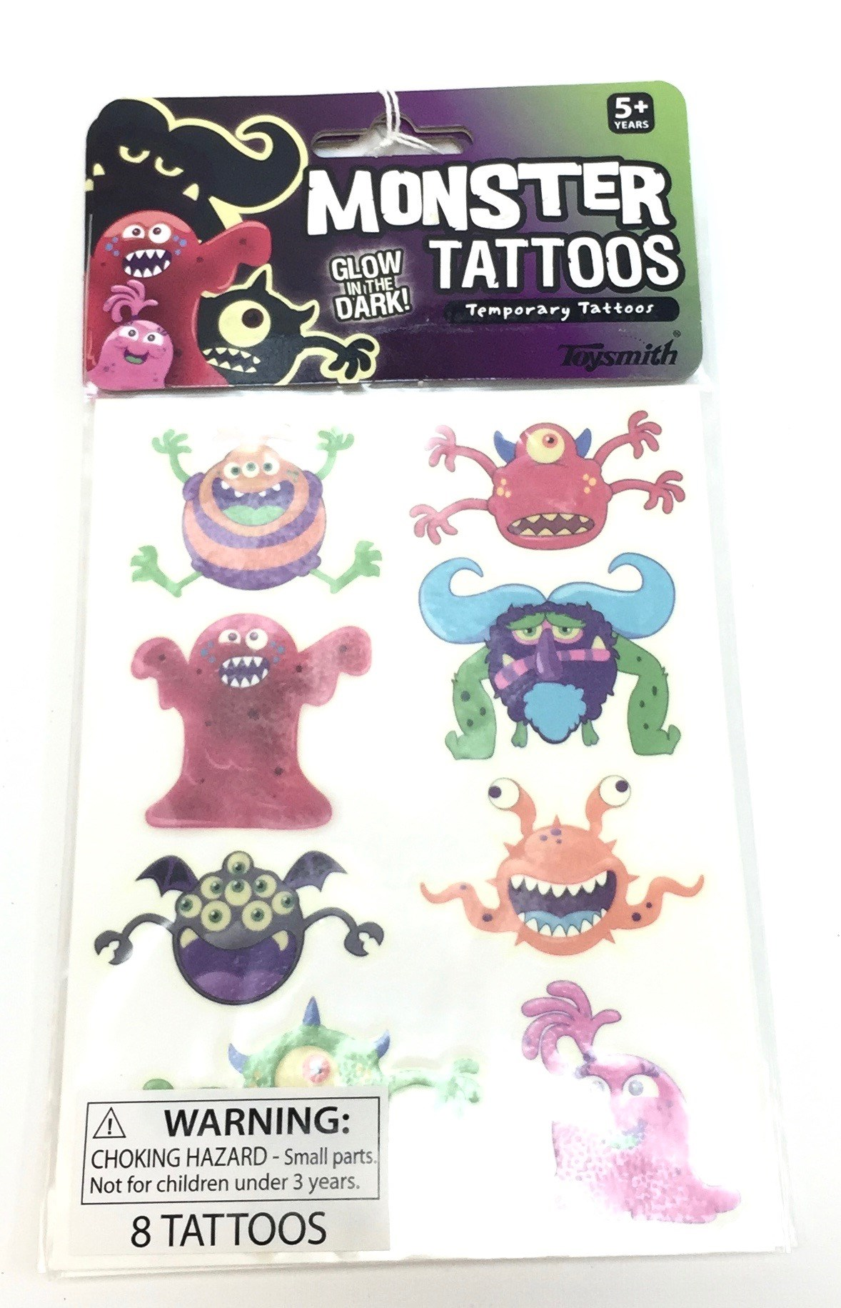Glow Monster Tattoos