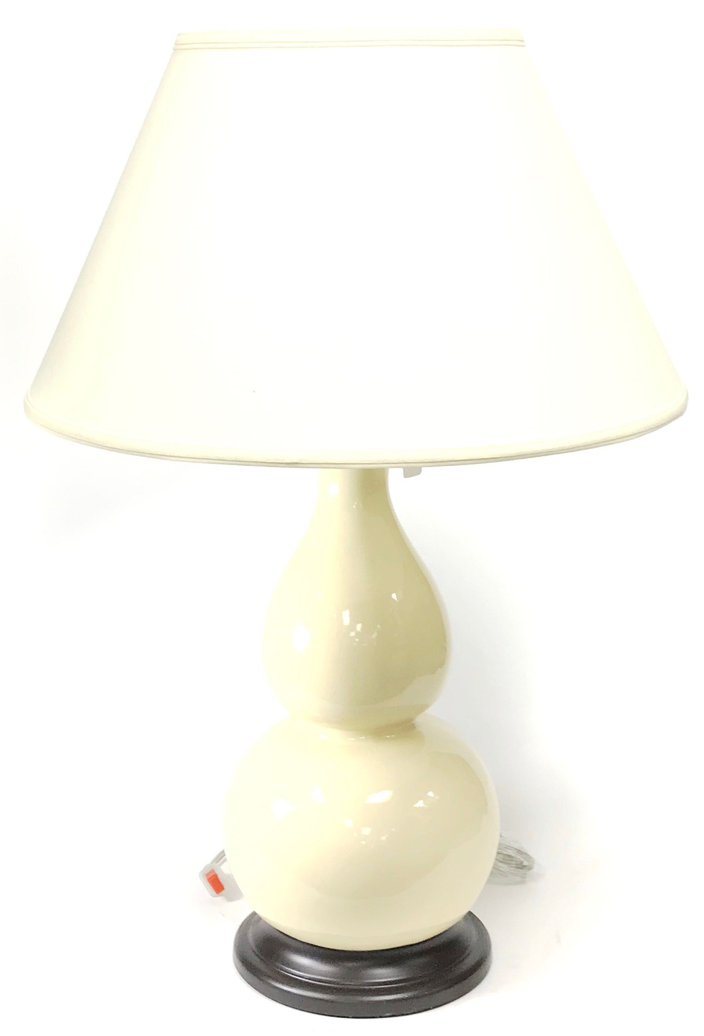 """28"""" Table Lamp Ivory"""