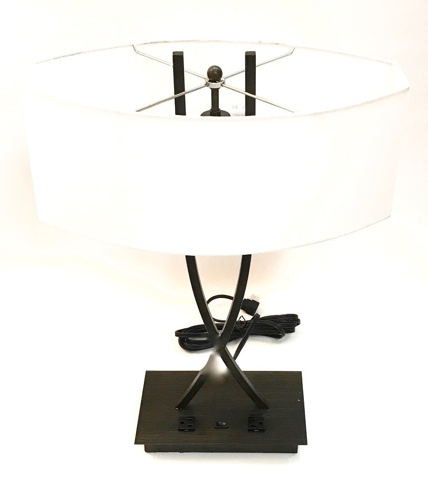 "Table Lamp 24"" Dark Bronze"