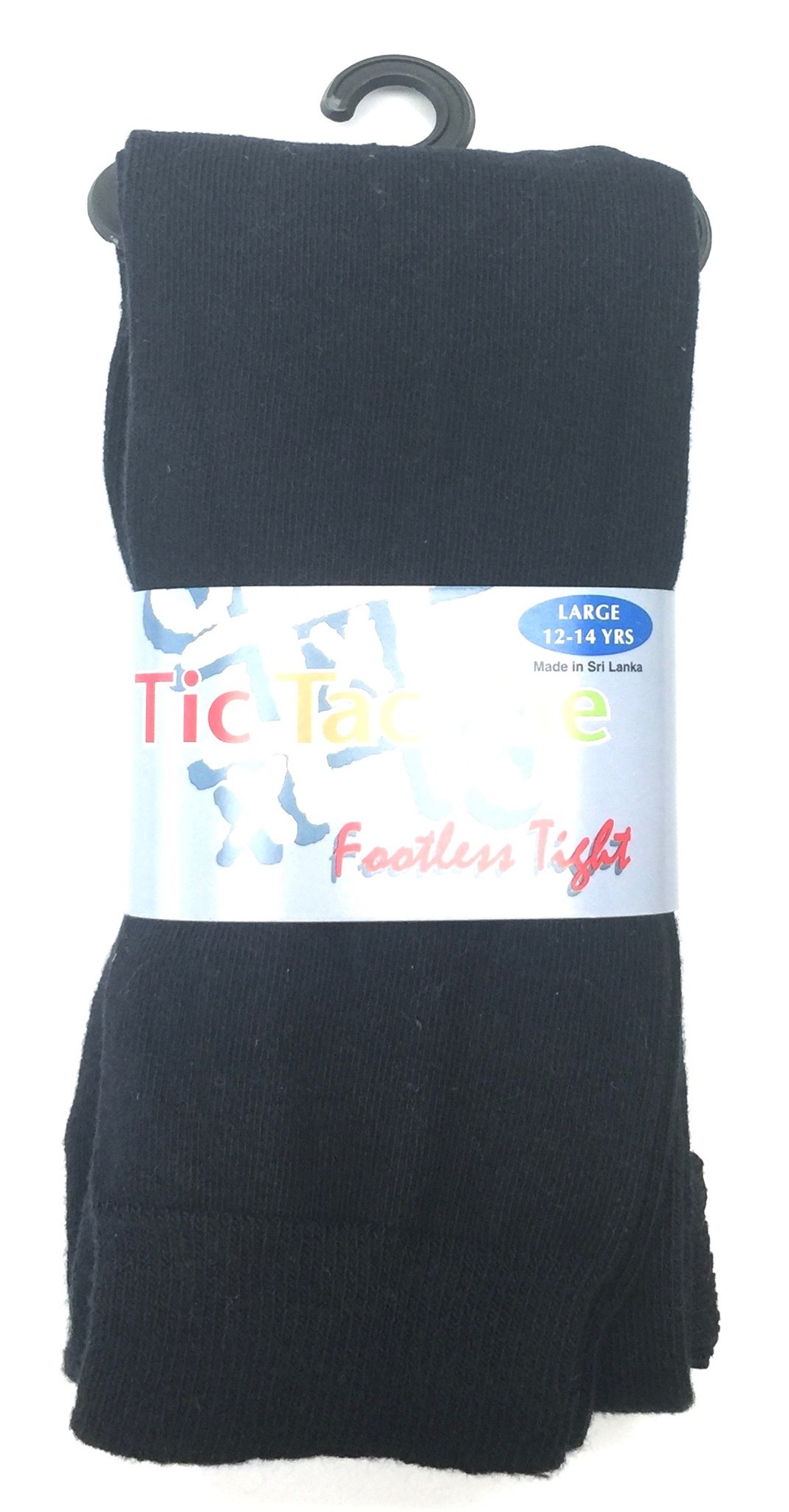 Solid Cotton Footless Tight NAVY