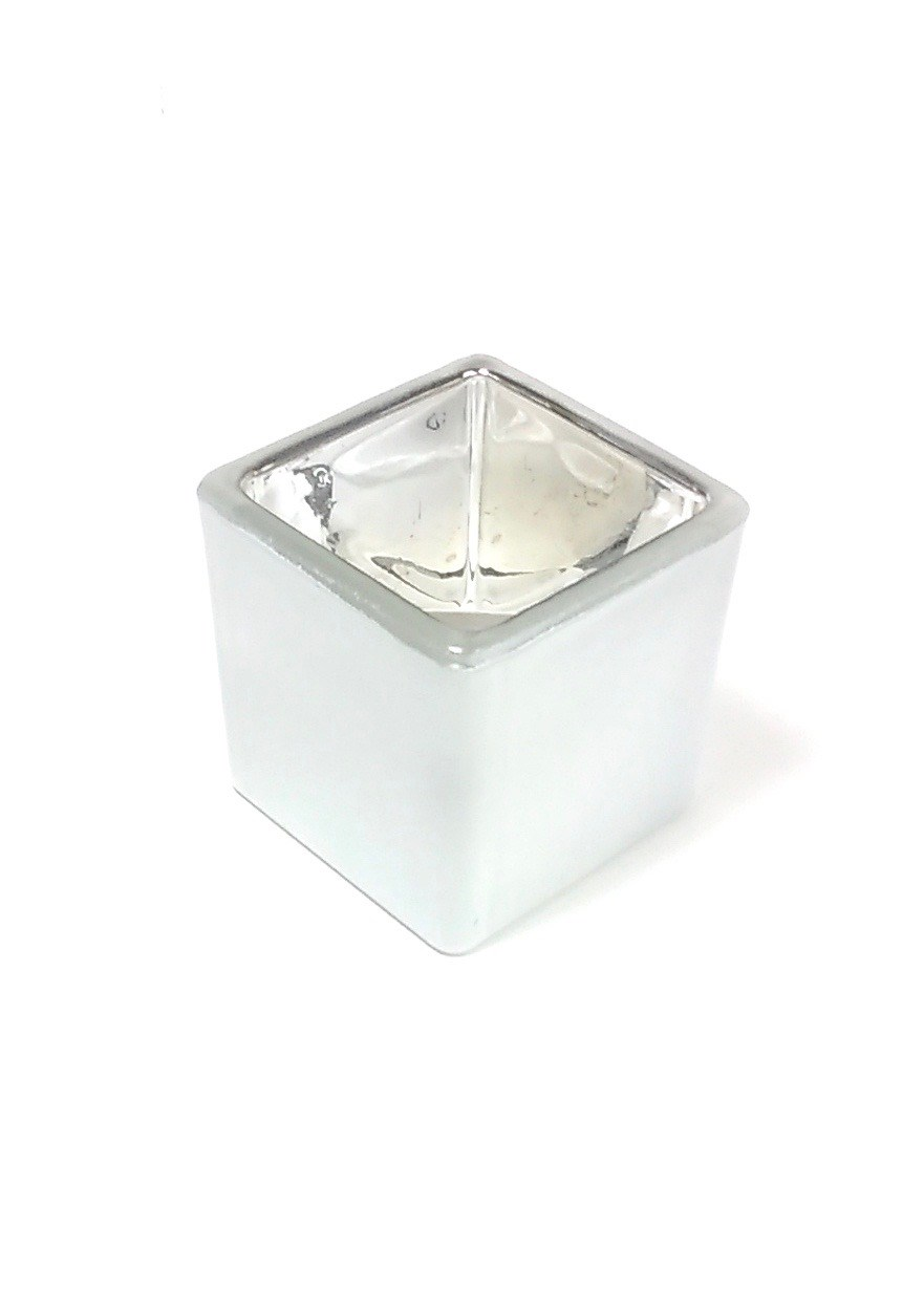 """Tealight 2"""" x 2"""" Candle Holder White"""