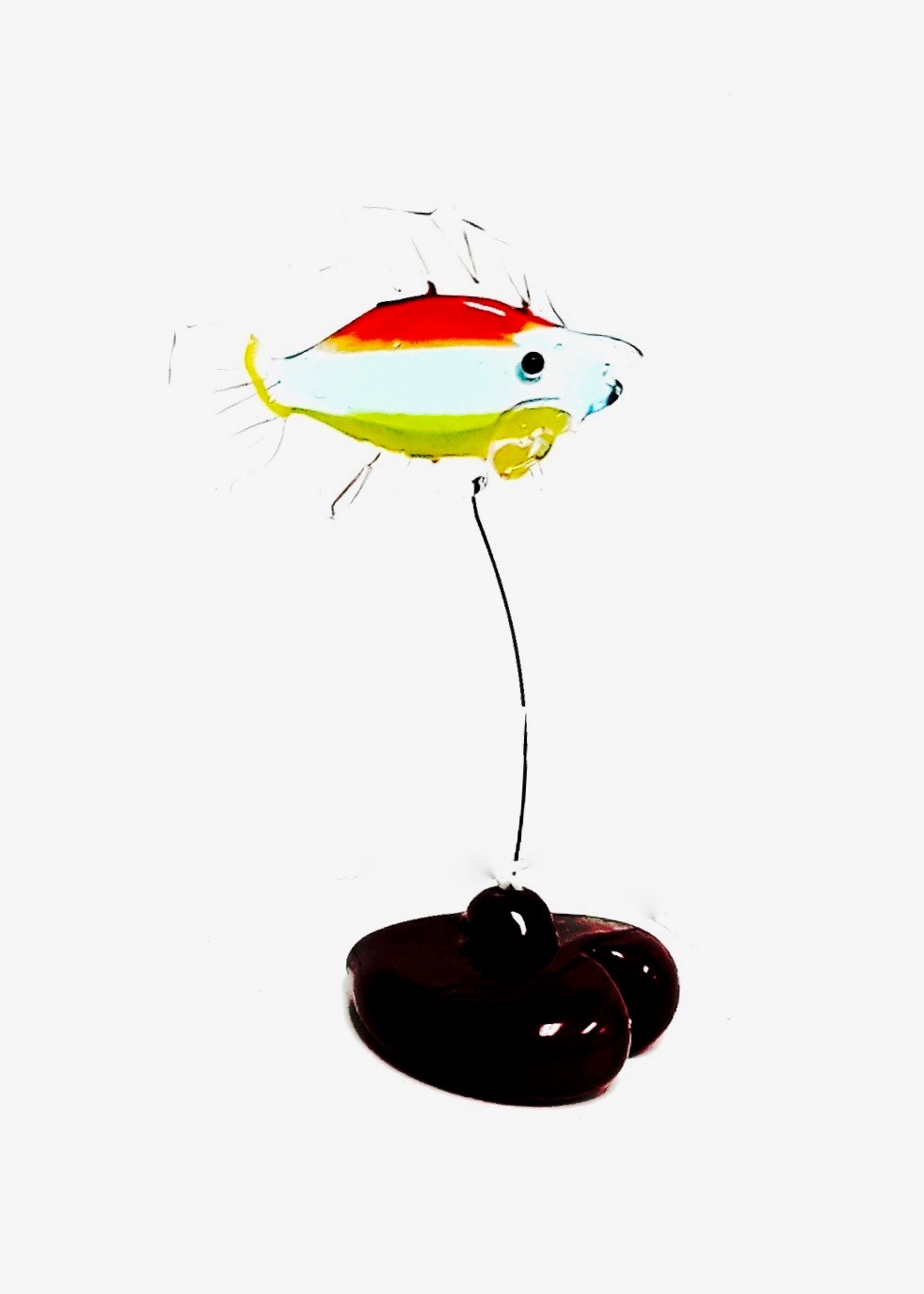 Glass Fish W/heart