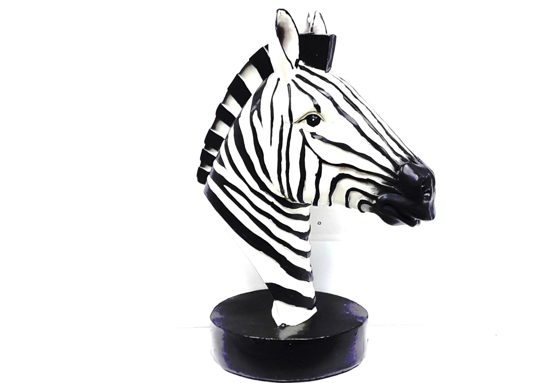 """12"""" Zebra Head"""