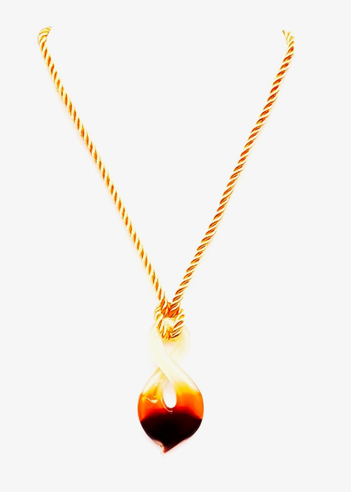 "Figure 8 Merengue Necklace 21""-24"" L"