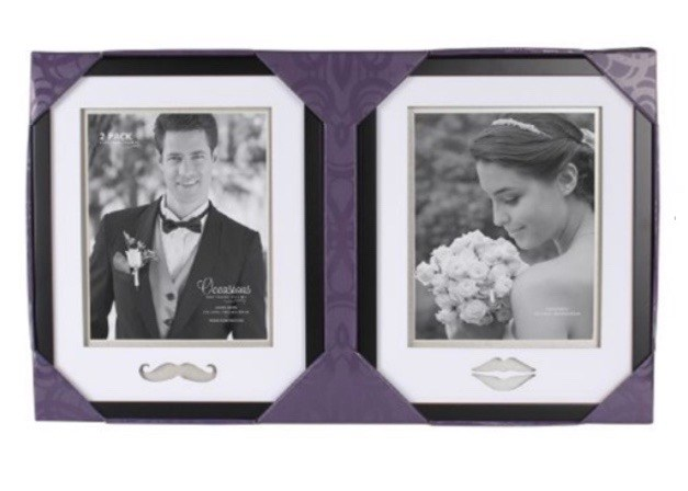 2 Pk Bride and Groom Frame