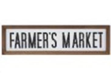 21x6 Farmers Market Sign
