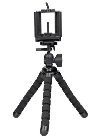 Flexible Tripod and Smartphone Holder Set