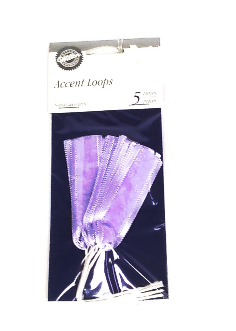 Accent loops lavender 5 pack