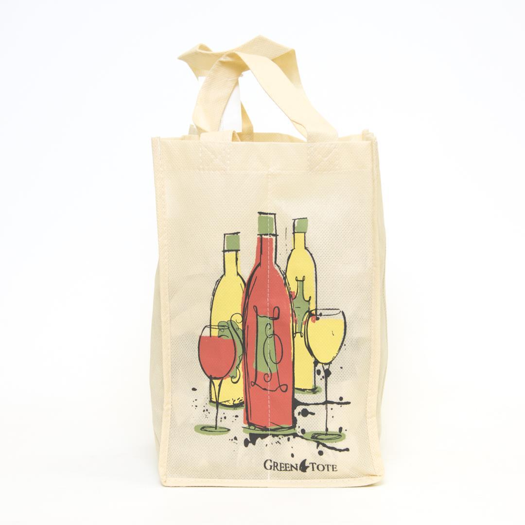 4 Bottle Wine Bag - Bottle