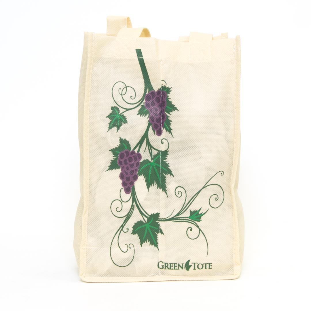 4 Bottle Wine Bag - Grape