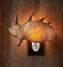 Wolf Antler Night Light