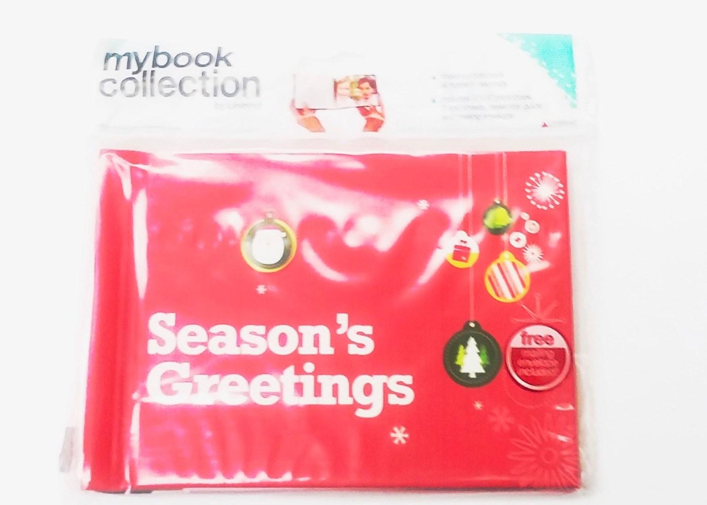 Photobook Mailer - Season's Greetings ornaments