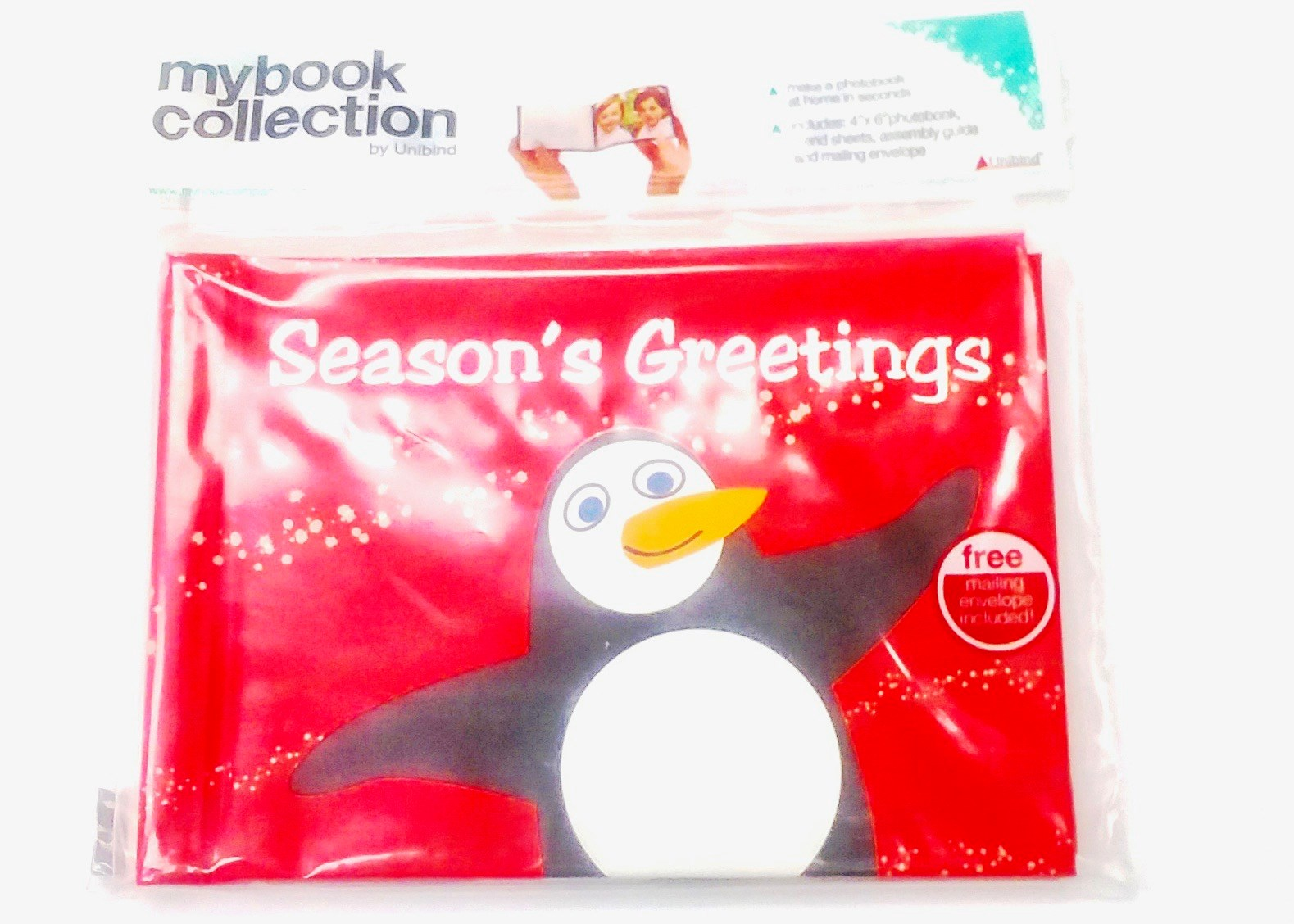 Photobook Mailer - Season's Greetings Penguins
