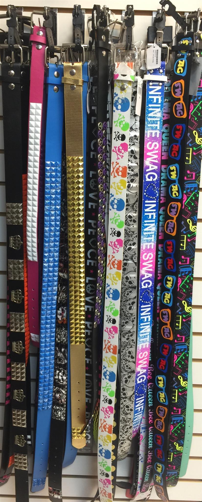 Assorted Novelty Belts