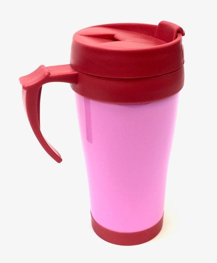 Plastic Mug Pink